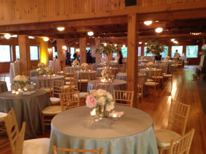 Wedding reception at Rockywold-Deephaven Camps.