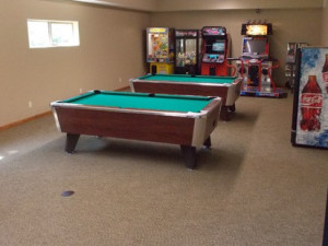 Club House recreation center at Wilderness Resort Villas.