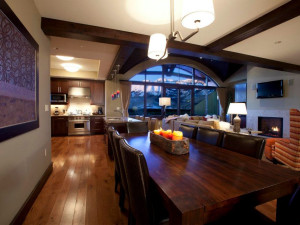 Penthouse suite at Lumiere Telluride.