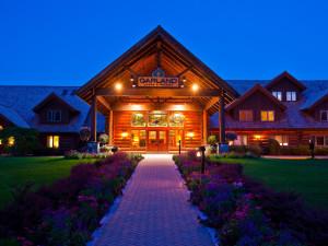 Exterior view of Garland Lodge & Resort.