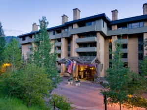 Exterior view of Vail's Mountain Haus.
