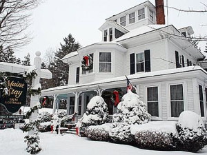 Exterior view of Maine Stay Inn & Cottages.