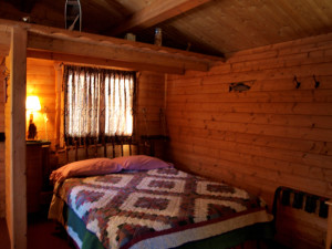 Cabin Bedroom at Mallard's Landing