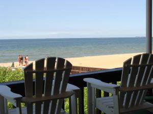 Chairs at Virginia Beach Resort Hotel.