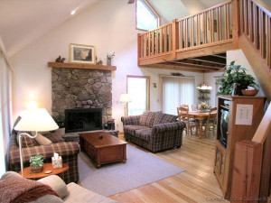 Vacation rental interior at Best of Canaan.
