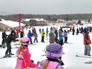 Skiing at Big Powderhorn Mountain Resort.