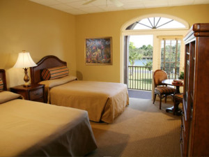 Guest room at Port of the Islands Hotel & Resort.