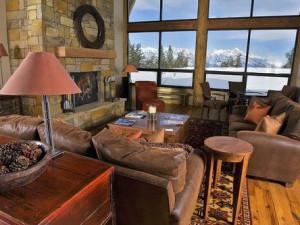 Living Room at Spring Creek Ranch