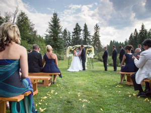 Wedding at Gaynor Ranch & Resort.