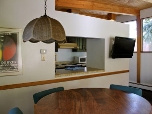 Guest kitchen at St. Moritz Lodge & Condominiums.