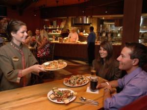 Dining at Chula Vista Resort.