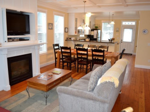 Vacation rental interior at Bella Beach Property Management.