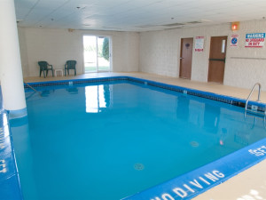 Indoor pool at Charlevoix Inn.