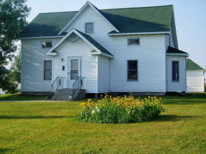 Exterior view of Smoland Prairie Homestead.