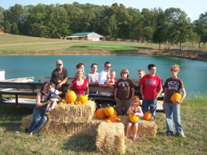 Hayride at  Elk Ridge Ranch.