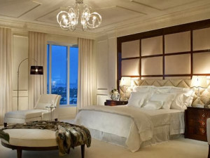 Guest room at The Ritz-Carlton, Palm Beach.