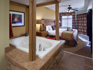 Guest suite at Holiday Inn Club Vacations Smoky Mountain Resort.