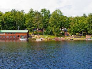 Exterior view of Virgin Timber Resort.