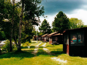 Cabins at Frontier Resort.