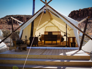 Luxury Camping at Moab Under Canvas