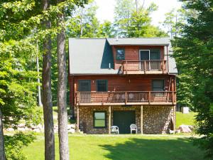 Cabin Exterior at Benjamin's Beaver Creek Resort