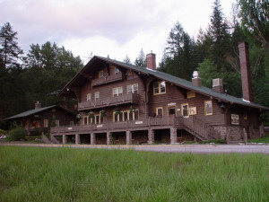 Exterior view of Belton Chalet.