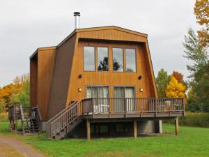 Vacation rental exterior at Big Powderhorn Lodging.