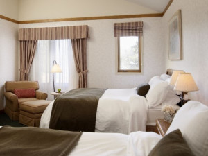 Guest Room at the Pinestone Resort