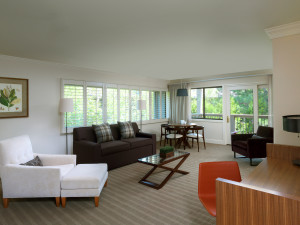 Suite at Topnotch Resort.