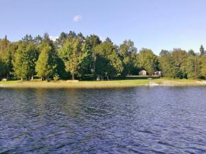 Exterior view of Wild Wood Haven Resort.