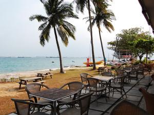 The beach at Mana Mana Beach Club.