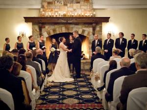 Wedding at Mountain View Grand Resort.