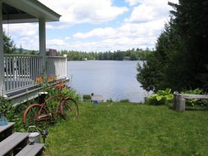 Lake view rental at Franconia Notch Vacations Rental & Realty.