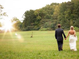 Wedding at American Mountain Rentals.