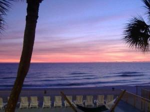 Beautiful Sunset at Chateau Motel