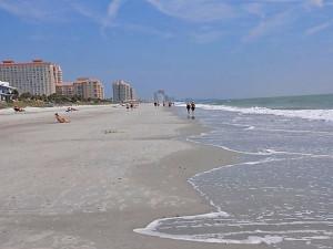 The beach at Luxury Beach Rentals, LLC.