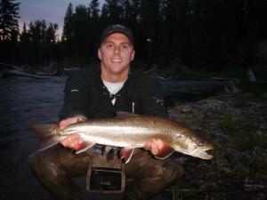 Fishing at Averill's Flathead Lake Lodge.