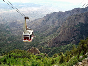 Aerial tram near Nativo Lodge.