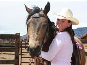Horseback riding at Rand Creek Ranch.