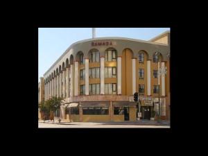 Exterior view of Ramada Wilshire Center.