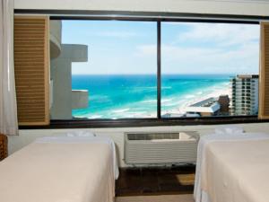 Massage tables at Holiday Inn Resort.