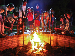 Campfire Fun at Fontana Village Resort