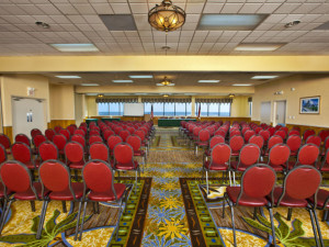 Conference room at Ramada Plaza.
