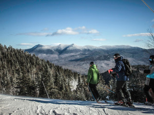 Skiing near The Valley Inn.