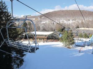 Skiing at Team Vacation Pro Vacation Rentals.