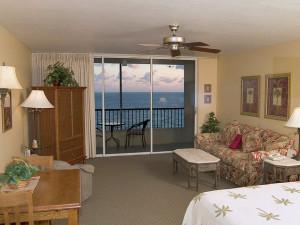 Guest room at Casa Playa Resort.