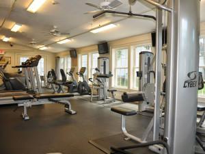 Fitness room at Eastern Slope Inn Resort.