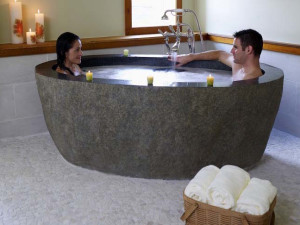 The spa at Stowe Mountain Lodge.