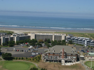 Aerial view of Gearhart by the Sea.