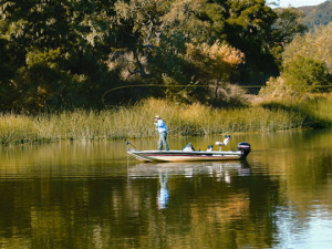 Fishing at Alisal Guest Ranch and Resort.